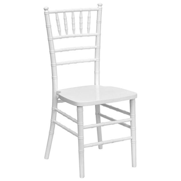 Chiavari Chair, White: $9.00