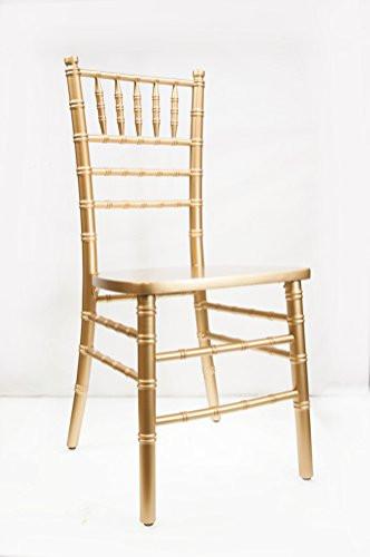 Chiavari Chair, Gold: $9.00