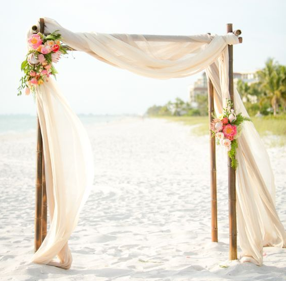 Bamboo Arbor, Double: $450.00 (Floral not included)