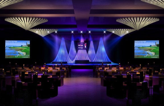 Lighting Draping and Design by Meeting Dynamics
