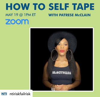 """How To Self Tape"" Resources"