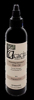 HAIR OIL- Fragrance Free, 4 oz