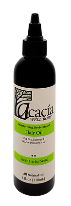 HAIR OIL- Fresh Herbal Scent, 4 oz