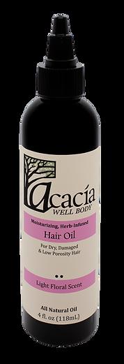 HAIR OIL-Light Floral Scent, 4 oz