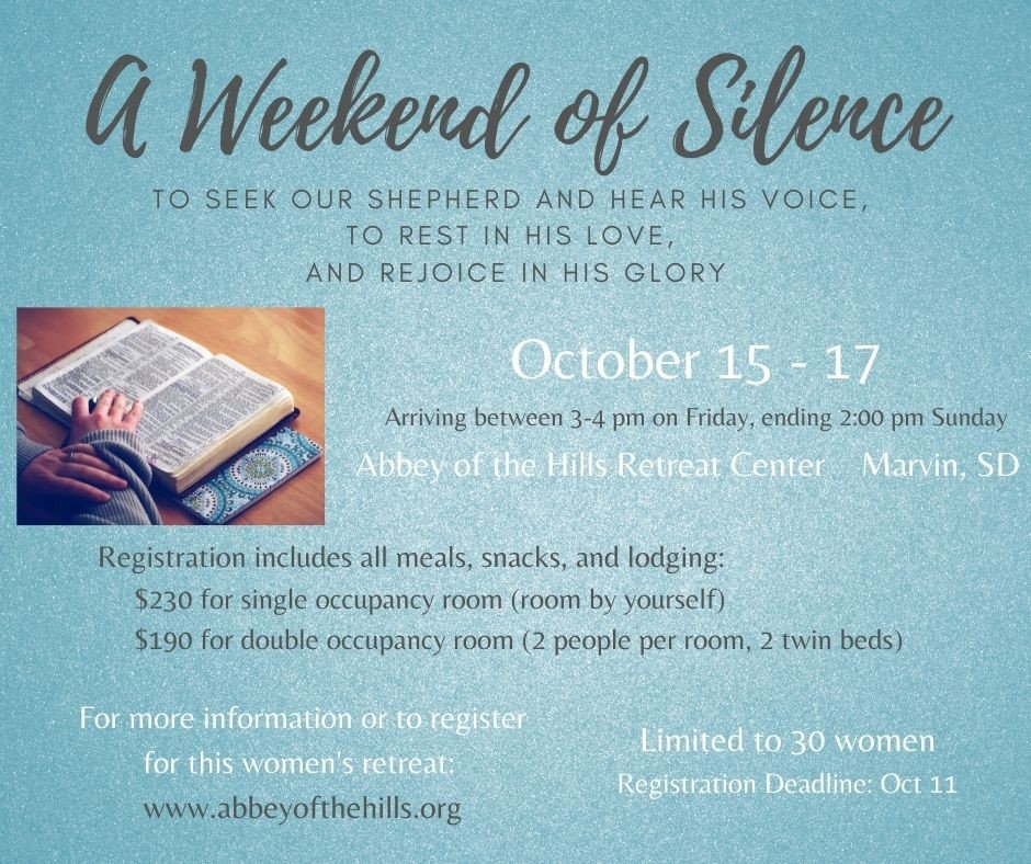 A Weekend of Silence.jpg