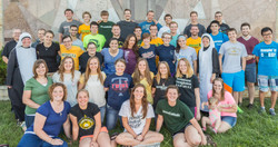 Young adult retreat.