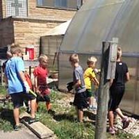 Kids Service Project Visit