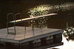 Floating Diving Board