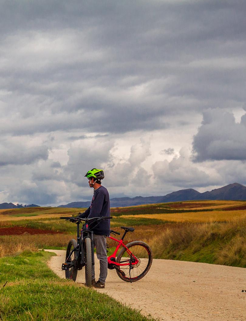 biking sacred valley