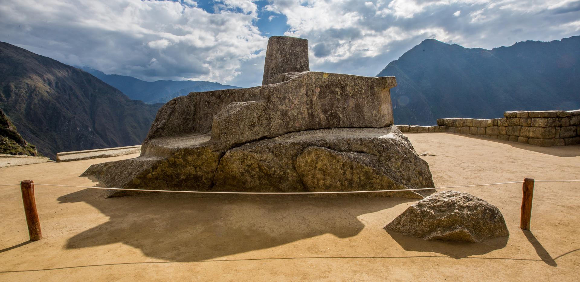 Machu Picchu Citadel (sun dial)