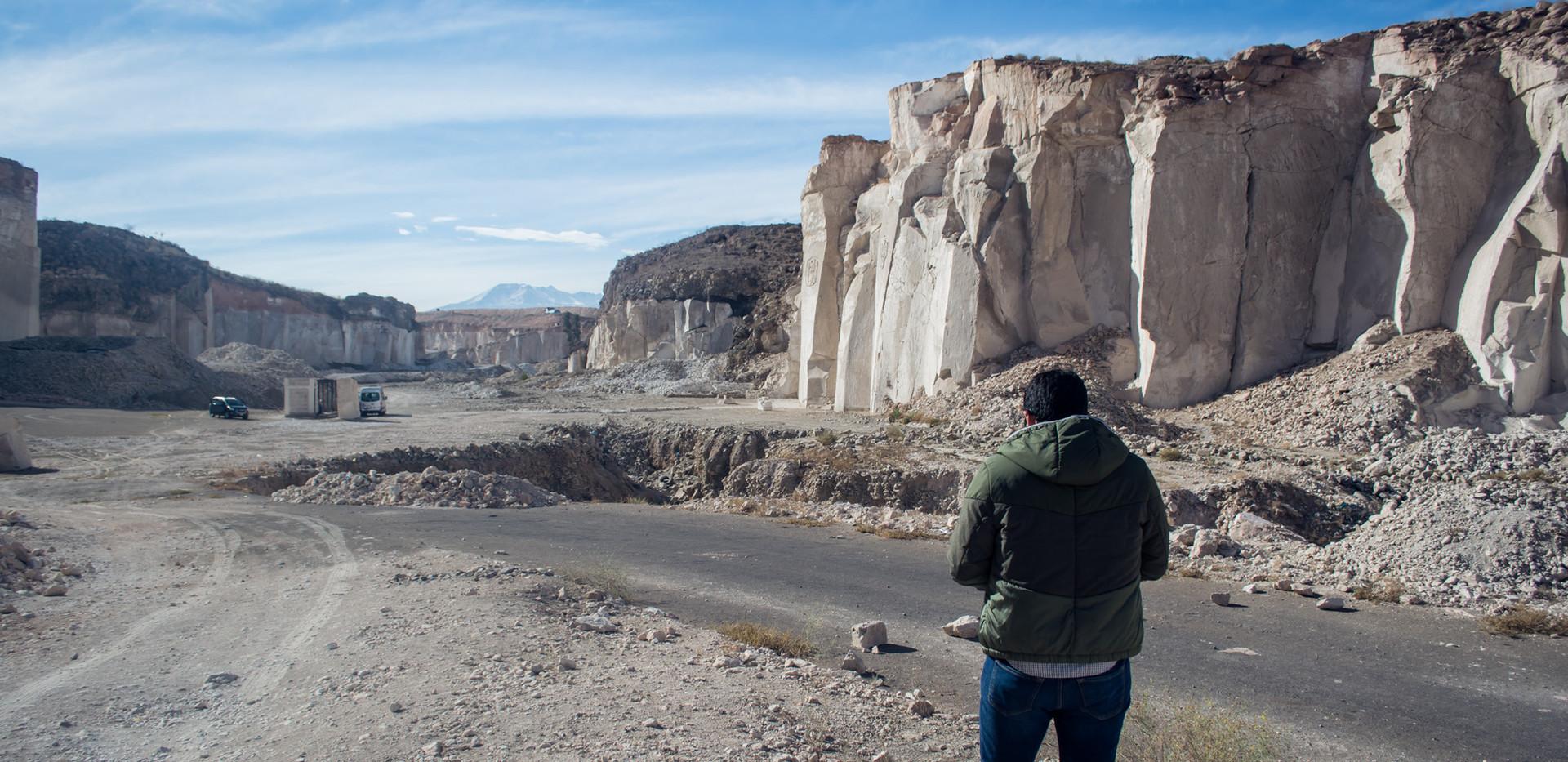 sillar quarries