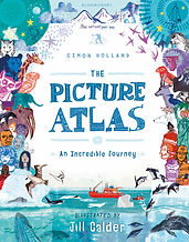 The Picture Atlas by Simon Holland & illustrated by Jill Calder