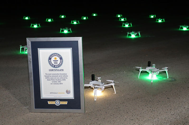 SKD drone show Guinness World Record