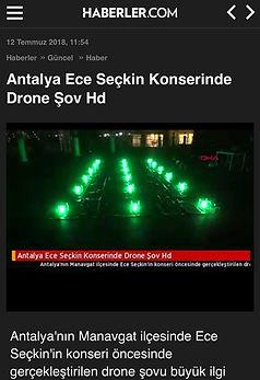Antalya Ece Seckin concert