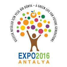 Antalya EXPO 2016 logo
