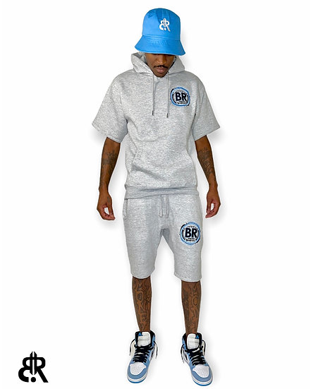Official Seal University Blue Short Set