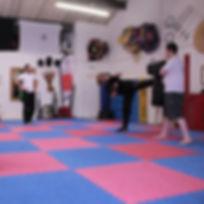 Patrick+Dickinson+teaching+Kung+Fu+in+No