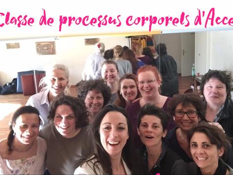 Un week-end de changements facilité par Angélique Bernard et Marlène Glauser Ricci à Genève