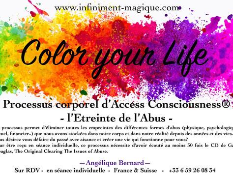 Nouveau processus corporels d'Access Consciousness® -l'Etreinte de l'Abus-
