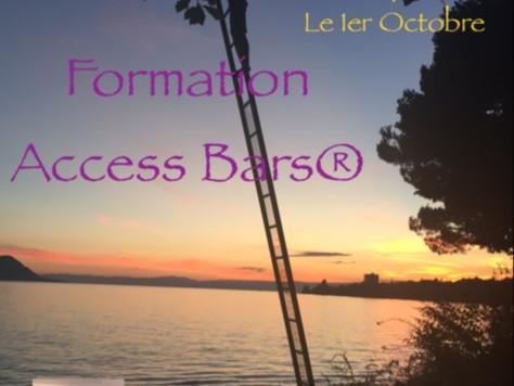 Formations Access Bars® le 1er Octobre à Genève