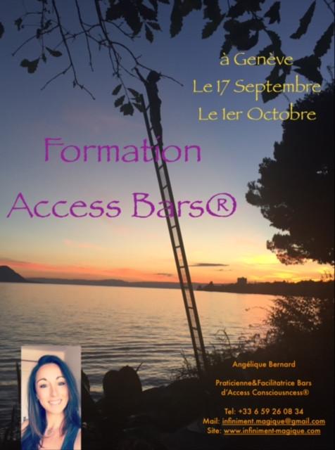 Formations Access Bars® 1er Octobre à Genève