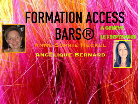 Formation Bars d'Access Consciousness® à Genève le 17 Septembre 2016