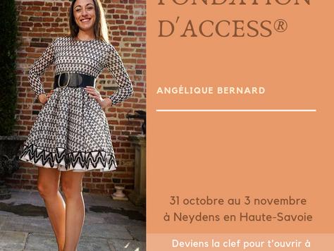Classe Fondation d'Access Consciousness® facilitée par Angélique Bernard CF, TTTE CF du 31 octob