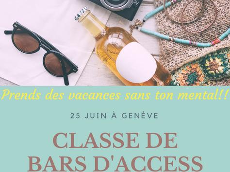 Classe de Bars®  A Genève, le 25 juin, Journée de formation certifiante à la technique des Bars® d&#