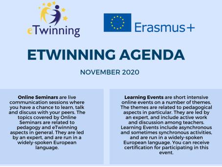 eTwinning Agenda November