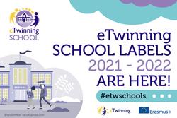 2021– 2022 eTwinning School Label awards