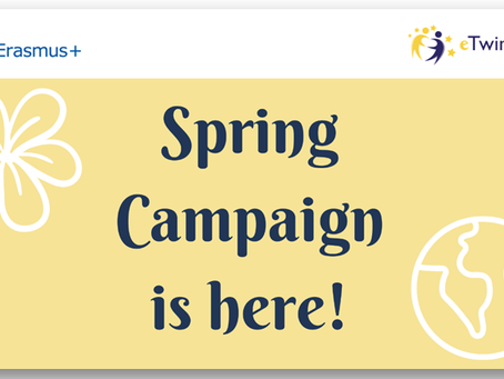 eTwinning Spring Campaign 2020 is here!