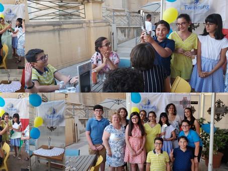 Schoolovision Trophy Celebration