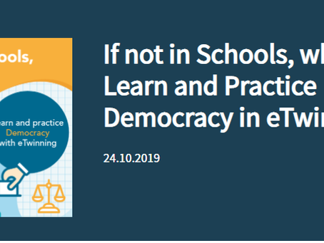 If not in Schools, where? Learn and Practice Democracy in eTwinning