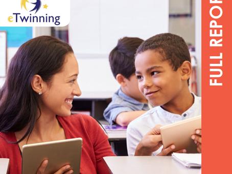 eTwinning report on Impact on teacher's practice, skills, and professional development opportuni