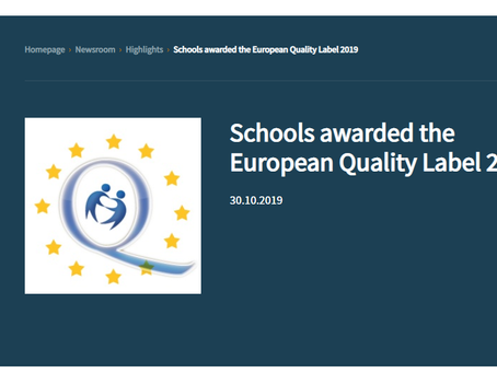 European Quality Labels awarded