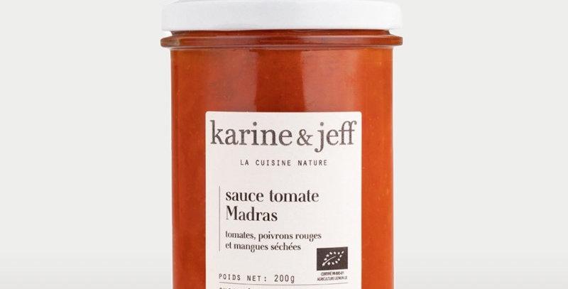 Sauce Madras - Karine & Jeff 200Gr