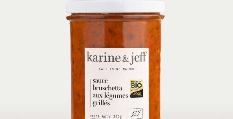 Sauce bruschetta aux légumes grillés - Karine & Jeff  - 200Gr
