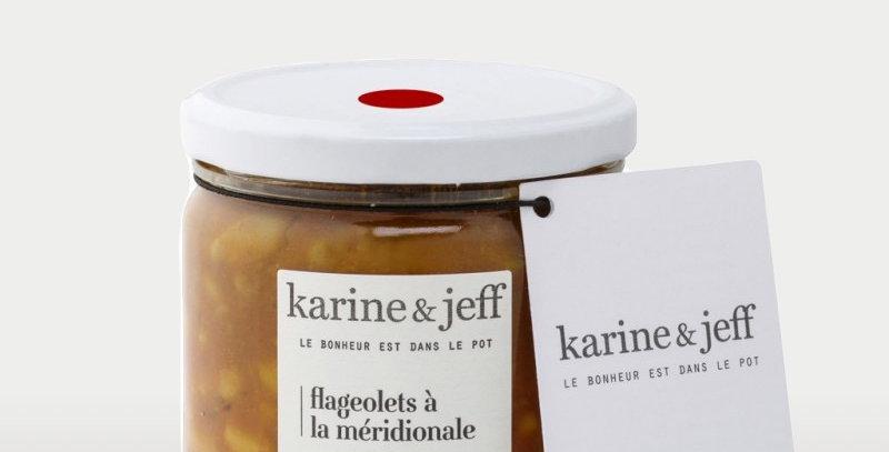 Flageolets à la méridionale - Karine & Jeff  - 350Gr