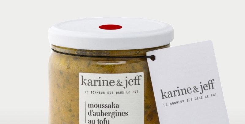 Moussaka d'aubergines au tofu - Karine & Jeff  - 360Gr