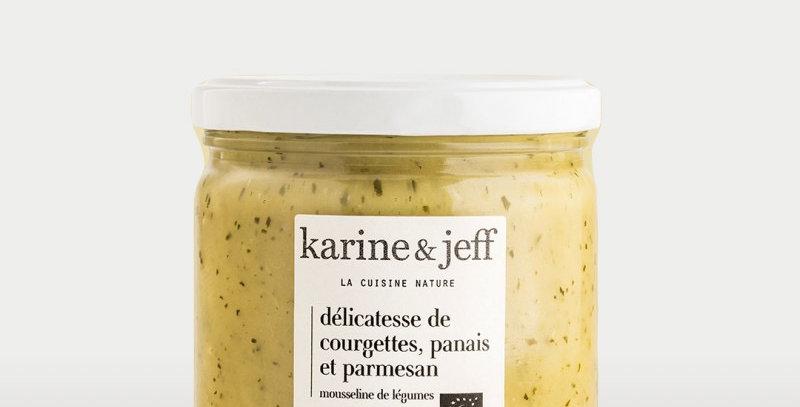 Délicatesse de courgettes, panais et parmesan - Karine & Jeff  - 320Gr