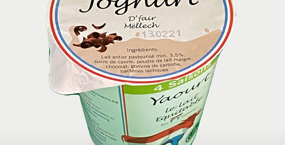 Yaourt entier Stracciatella - Thiry Molkerei - 150Gr