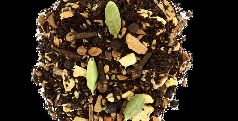 Thé noir parfumé  - CHAI TEA  - Teatower
