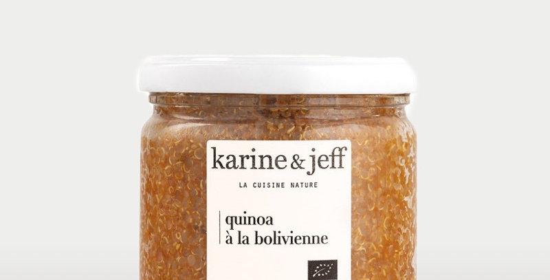Quinoa aux tomates, carottes et cumin - Karine & Jeff  - 350Gr