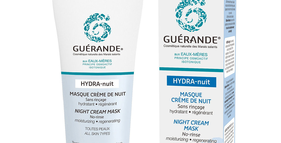 Hydra-Nuit Masque Crème De Nuit - Guerande - 60ml
