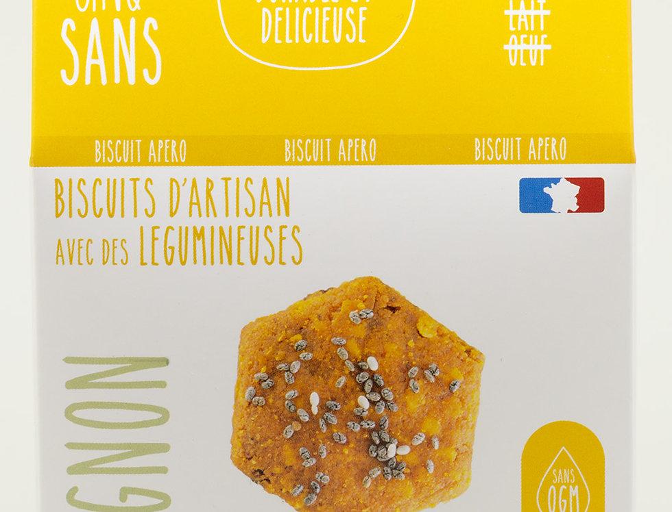 Biscuit Apéro Paprika Fumé Oignons - Cinq Sans - 100Gr
