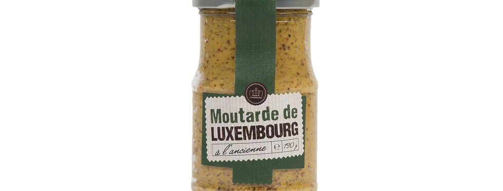 """La moutarde de Luxembourg """"à l'ancienne"""" - 190 gr"""