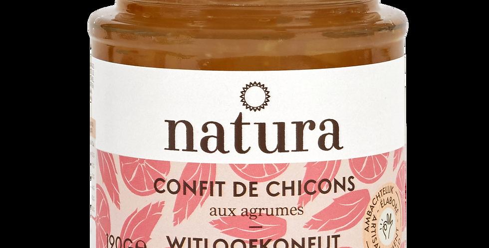 Confit de Chicons aux Agrumes Natura - 190 gr