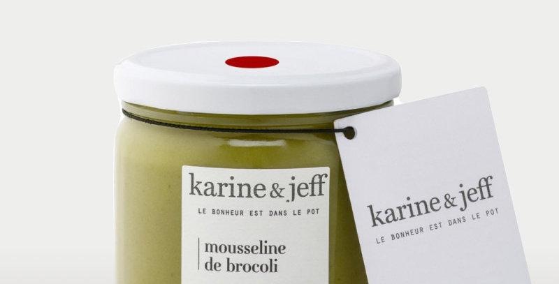 Mousseline de brocoli - Karine & Jeff  - 350Gr