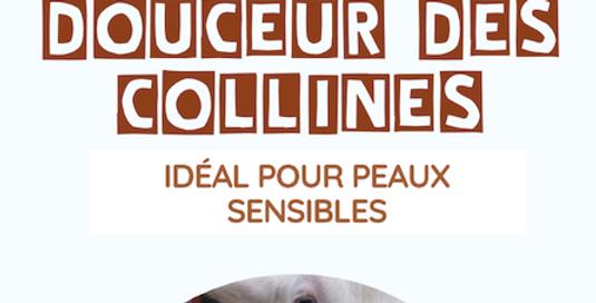 Savon «Douceur des Collines» au lait de chèvre (peau sensible) - L'Arbre a Savon