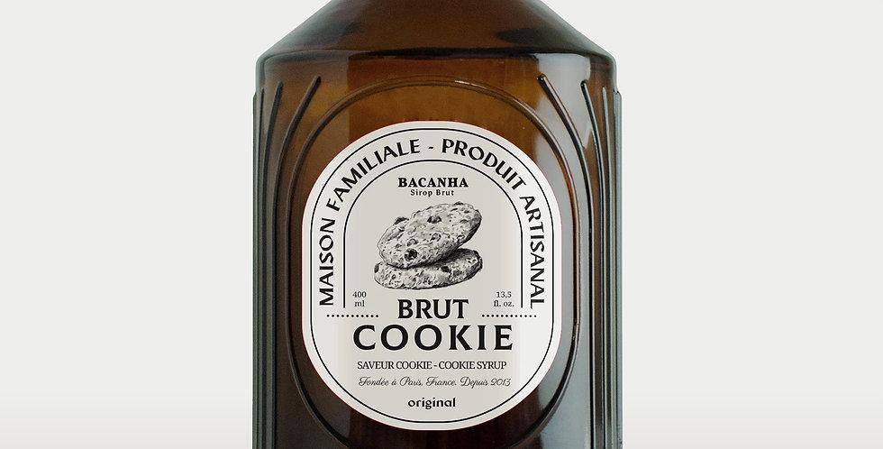 Sirop de Cookie Brut - Bio - 400 ml - Bacanha